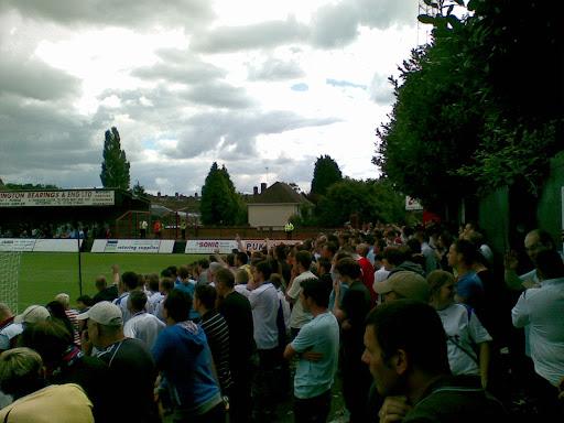 Rushden fans