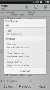 Diabetes Tools - Glucose screenshot 5
