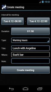 Smart Meeting Planner screenshot 1