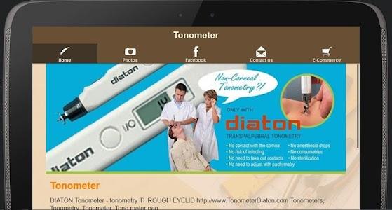 Tonometer - Glaucoma Eye Test screenshot 1
