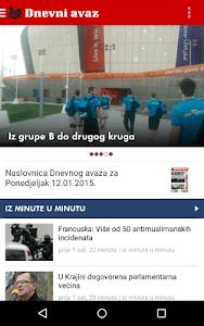 Dnevni avaz screenshot 0