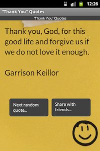 """Thank You"" Quotes screenshot 3"