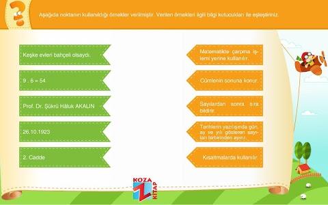 Türkçe 5 KOZA Z-Kitap screenshot 7