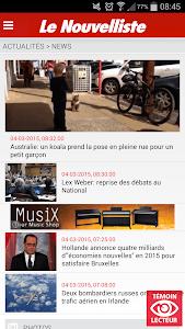 Le Nouvelliste en continu screenshot 0