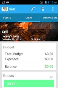 Event Expenses screenshot 3