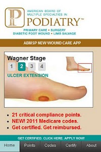 ABMSP Diabetic Wound Care App screenshot 0
