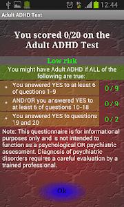 Adult ADHD Test screenshot 2