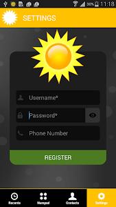 Sun Dialer screenshot 0