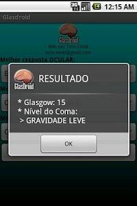 GlasDroid - Glasgow Coma screenshot 1