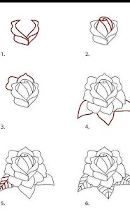 Download How To Draw Rose Easy Video Google Play softwares