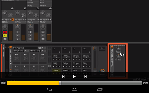 Course For Bitwig Interments screenshot 4