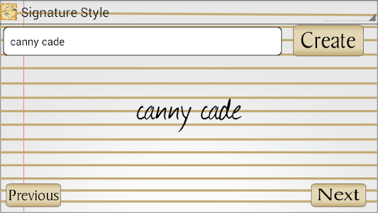 Signature Style screenshot 3