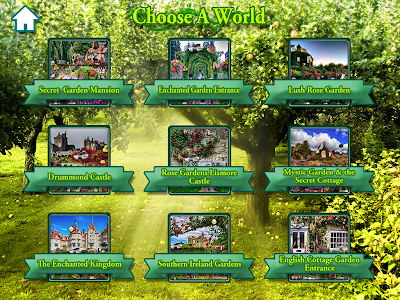 Hidden Objects Secret Gardens! screenshot 8