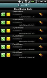 Auxify Call Blocker SMS Eraser screenshot 3