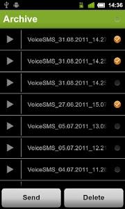 Voice SMS(MSS) - voice2voice screenshot 2