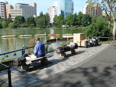Sin techo en Ueno