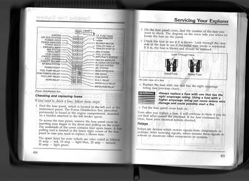 1996 Ford Explorer Fuse Box Diagram 1995 Ford Explorer Fuse Box