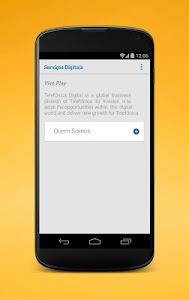 Serviços Digitais da Vivo screenshot 3