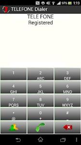 TELEFONE Platinum Dialer screenshot 1