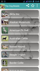 Dog Breeds Easy Pet Finder screenshot 0
