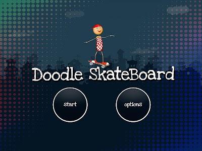 Skater Doodle screenshot 1
