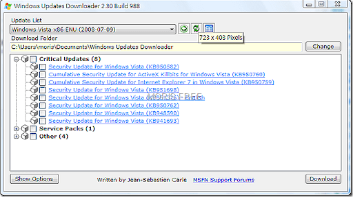 windows updates downloader