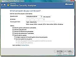 Microsoft Baseline Security Analyzer 2-2