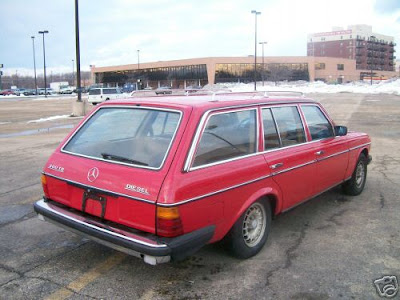Mercedes Station Wagon