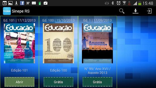 Educação em Revista screenshot 4