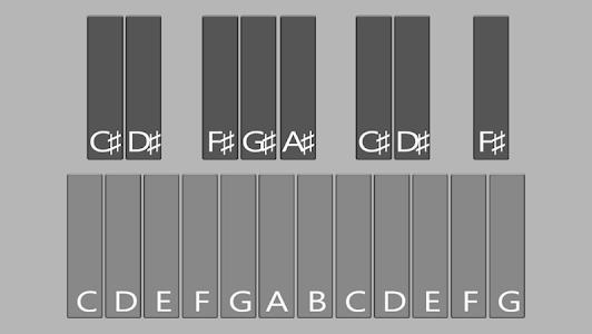 Glockenspiel Plus screenshot 1