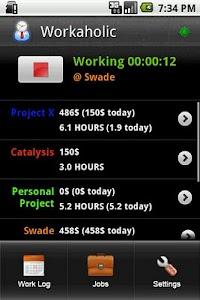 Workaholic screenshot 0