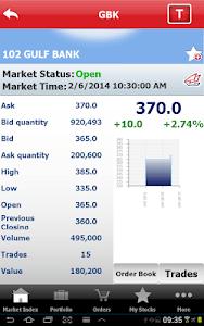 Gulf Bank Mobile Trader screenshot 11