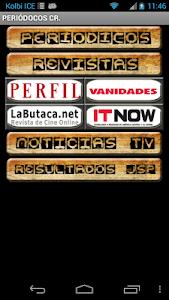 Periódicos de Costa Rica screenshot 1