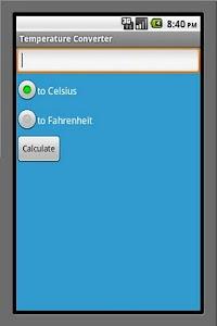 Temperature Converter screenshot 0
