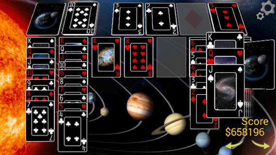 Classic Klondike Solitaire 3D screenshot 03