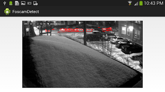 OpenCV Movement Detect screenshot 1