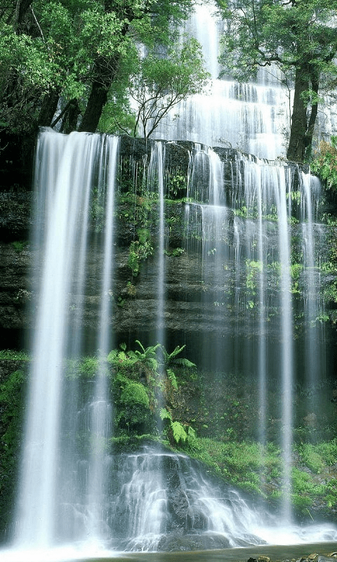 Fall In Love With Me Wallpaper Waterfall 3d Hd Wallpaper Apk Android Gratuit T 233 L 233 Charger