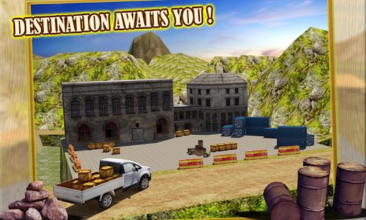 4x4 Hill Driver 3D Free screenshot 03