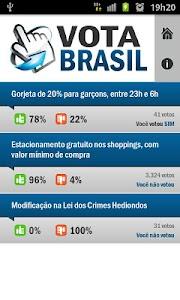 Vota Brasil screenshot 1