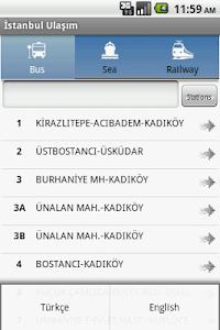 Istanbul Ulasim screenshot 0