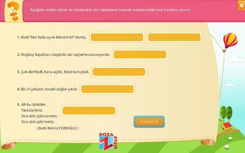 Türkçe 6 KOZA Z-Kitap screenshot 4