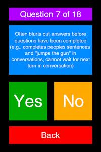 ADHD Test screenshot 2
