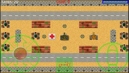 Tank Battle Full Version screenshot 1