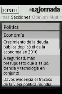 La Jornada mini screenshot 2