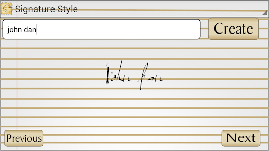 Signature Style screenshot 1
