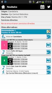 Rutas Metro y Metrobús DF screenshot 2