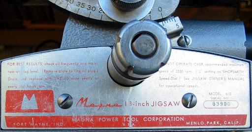 Shopsmith Jigsaw Manual