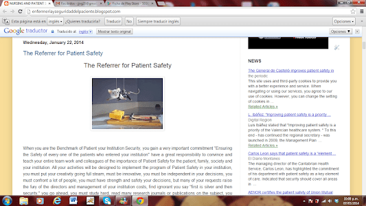 PATIENT SAFETY screenshot 2