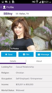 OurTime Dating for Singles 50+ screenshot 1