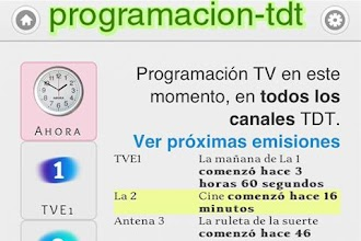 Programacion TDT (TV) España 1 4 9 latest apk download for